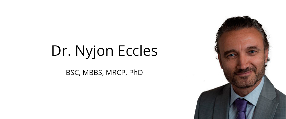 About Dr Nyjon Eccles - The Natural Doctor