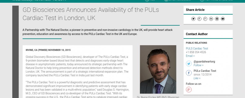 GD Biosciences Announces Availability