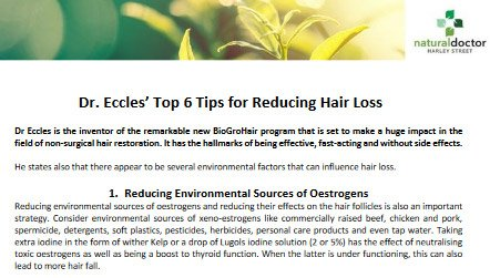 Top 6 Tips For Reducing Hair Loss