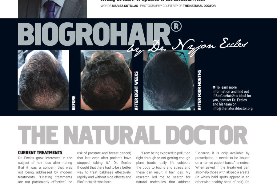 BIOGROHAIR®, By Dr. Eccles