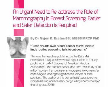 An Urgent Need to Re-address the tole of mammography in Breast Screening